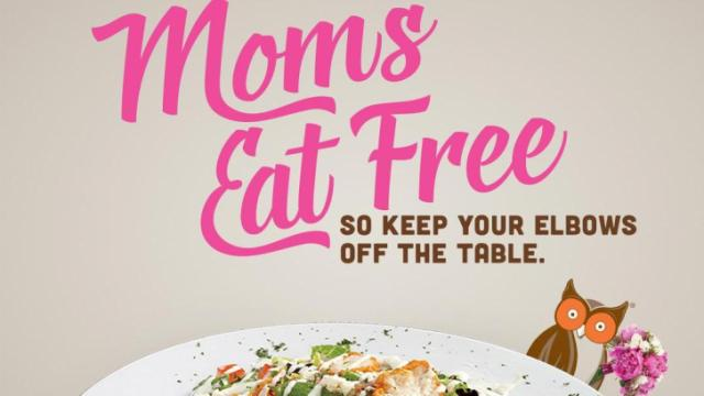 Hooters Mother's Day Offer 2016