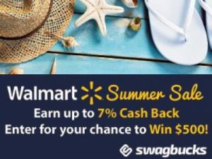 Walmart Summer Swagbucks Offer