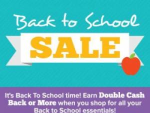 Swagbucks Back to School Sale