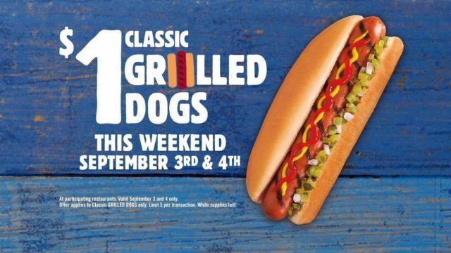Burger King Hot Dog Offer (photo via BK.com)