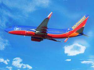 Southwest Airlines goes in the red