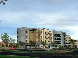 An artist's rendering of a Courtyard by Marriott hotel planned for Triangle Town Center Mall (Photo courtesy of MJM Real Estate Group)