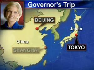 Gov. Beverly Perdue's trade mission to Japan and China runs Oct. 14-27.