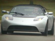 Electric sports car roars into Triangle