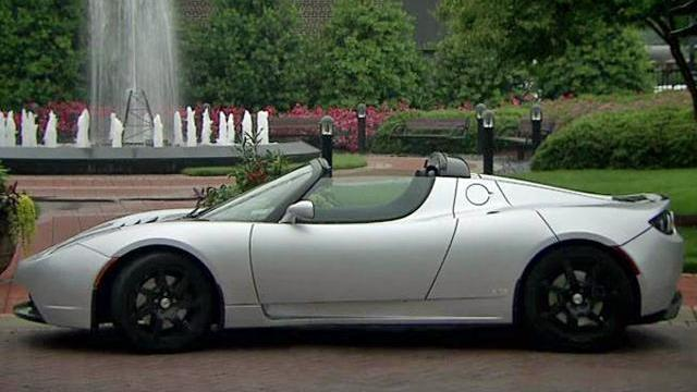 The Tesla Roadster is the first commercially produced automobile to run on lithium-ion batteries and the first electric vehicle to be able to go more than 200 miles on a single charge.