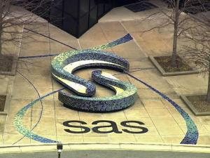 SAS campus in Cary, NC.