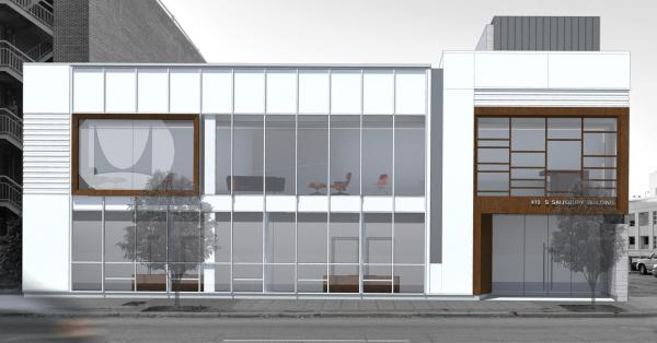 Rendering of Alfred Williams & Company's future HQ. (Image courtesy of Alfred Williams & Company)