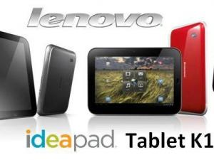 Lenovo's Ideapad Tablet K1 (Lenovo image)