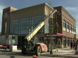 The world's first double-decker Chick-fil-A restaurant opens next month in Raleigh, as part of a major renovation project at the city's oldest shopping center.