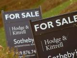 For sale sign, home sale