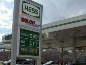 Six stations on South Saunders Street in Raleigh were selling gas for less than $3 a gallon on Dec. 18, 2012.