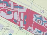 Part of map of Park Center in RTP