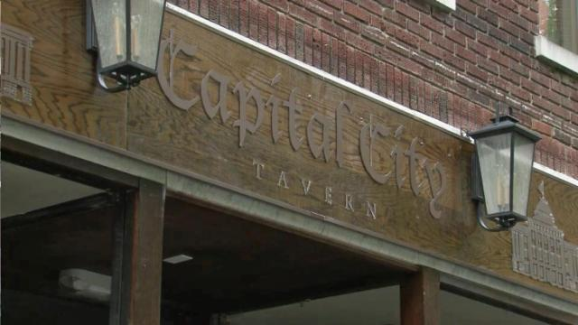 Business booming at street level in Raleigh