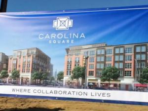 Carolina Square is set to open in August 2017 on Franklin Street.