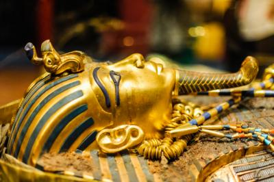 A new study found that the blade of King Tutankhamun's golden dagger has high levels of nickel, cobalt, and phosphorous which match the chemical composition of a meteorite found in Mersa Matruh, Egypt in 2000. (Deseret Photo)
