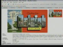 NC Postcard Exhibit at UNC-CH