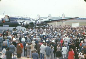 The UNC basketball team returns to RDU on March 24, 1957, after winning the national championship.  (Dave Langley)