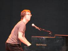 Ben Folds performed at the outdoor Koka Booth Ampitheatre in Cary's Regency Park on Friday, May 30.