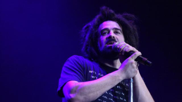 Adam Duritz, lead singer for The Counting Crows