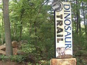 Durham museum dinosaur trail to open