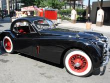 The Carolina Classics at the Capital has taken over the Raleigh Convention Center and Fayetteville Street in Raleigh this weekend. It's the largest outdoor car show in the southeast U.S., with more displays outside.