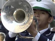 Leesville Road High School marching band
