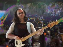 Rush performed Saturday night at the Greensboro Coliseum.