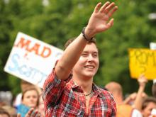"Scotty McCreery, a Garner High student, is a finalist on Season 10 of ""American Idol."""