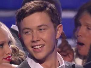 """Scotty McCreery after being crowned """"American Idol."""""""