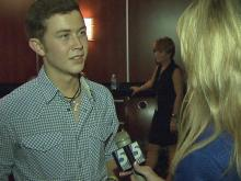 Scotty talks to WRAL after the concert