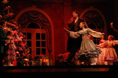 A look at a rehearsal of Carolina Ballet's The Nutcracker on Nov. 30, 2011.