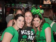 A look at the St. Patrick's Day celebrations at the Hibernian, Napper Tandy's and other locations in Raleigh.