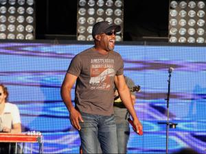Darius Rucker served as an opening act for Lady Antebellum at Time Warner Cable Music Pavilion at Walnut Creek on June 8, 2012 in Raleigh, NC (Photo by Jack Morton).