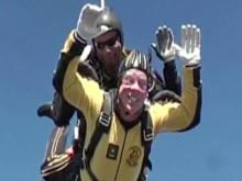 MIX 101.5 host goes skydiving
