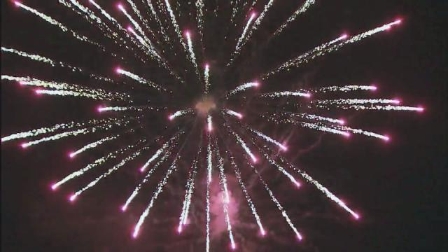 Fourth of July celebrations have officially begun in the Triangle as the Town of Wake Forest kicked off its 40th annual fireworks show Wednesday night.