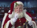 Santa prepares for WRAL-TV Raleigh Christmas Parade