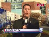 Jeff Gravley does his best Scotty McCreery impression during the 6 p.m. newscast