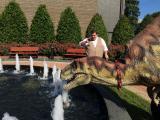 Velociraptor visits WRAL