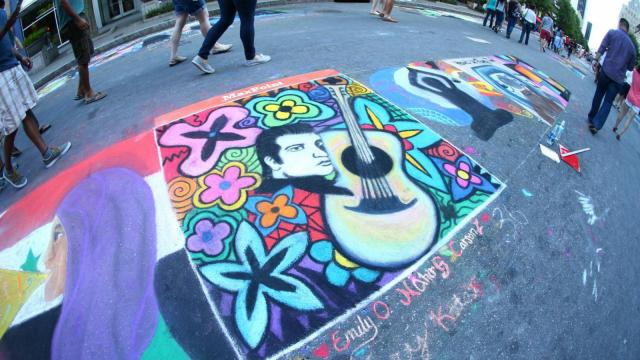 SPARKcon Arts Festival celebrates 10 years and back in downtown Raleigh on September 19, 2015. (Chris Baird / WRAL Contributor).