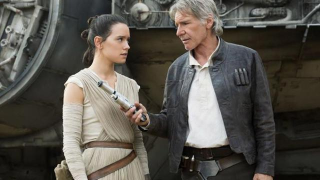 """Daisy Ridley and Harrison Ford star in """"Star Wars: The Force Awakens,"""" now on Blu-ray and DVD. (Deseret Photo)"""
