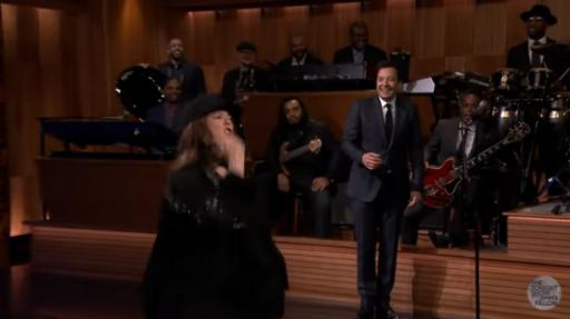 """Choosing the classic """"Pocahontas"""" ballad to close the eight-minute long back-and-forth between Melissa McCarthy and Jimmy Fallon did not disappoint. The glitter at the end was a nice touch. (Deseret Photo)"""