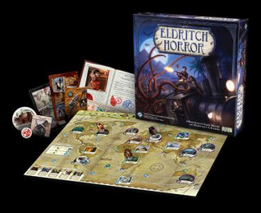Eldritch Horror is a cooperative game of terror and adventure in which one to eight players take the roles of globetrotting investigators working to solve mysteries, gather clues and protect the world from an Ancient One — that is, an elder being intent on destroying the world. (Deseret Photo)