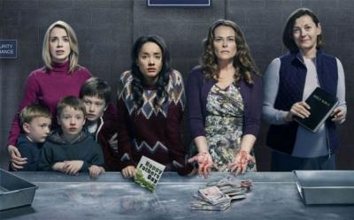 """Sally Carman, left, Karla Crome, Polly Walker and Pippa Haywood star in the compelling British series """"Prisoners Wives,"""" now on DVD. (Deseret Photo)"""