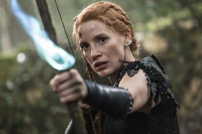 """Jessica Chastin as the warrior Sara in the story that came before Snow White: """"The Huntsman: Winter's War."""" (Deseret Photo)"""