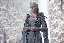 """Emily Blunt as the Ice Queen Freya assembles an army in the story that came before Snow White: """"The Huntsman: Winter's War."""" (Deseret Photo)"""