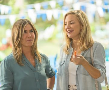 """Jennifer Aniston, left, and Kate Hudson in """"Mother's Day."""" (Deseret Photo)"""