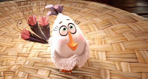 """Matilda (Maya Rudolph) peacefully channels her anger in """"Angry Birds."""" (Deseret Photo)"""