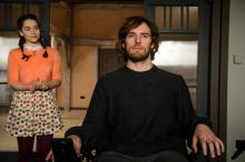 """Emilia Clarke, left, as Lou Clark and Sam Claflin as Will Traynor in the romantic drama """"Me Before You."""" (Deseret Photo)"""