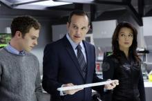 "Iain De Caestecker, Clark Gregg and Ming-Na Wen in Marvel's ""Agents of S.H.I.E.L.D."" (Deseret Photo)"
