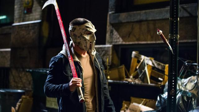 """Stephen Amell as Casey Jones in """"Teenage Mutant Ninja Turtles: Out of the Shadows."""" (Deseret Photo)"""